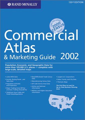 9780528853241: Rand McNally 2002 Commercial Atlas & Marketing Guide (Rand Mcnally Commercial Atlas and Marketing Guide)