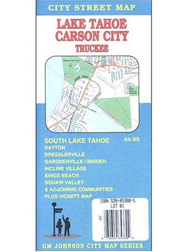 9780528853807: Lake Tahoe/Carson City/Truckee/Minden/Gardnerville
