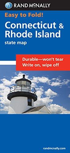 9780528854224: Easy To Fold: Connecticut, Rhode Island (Easyfinder Maps)