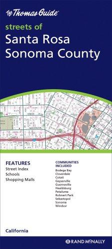 Santa Rosa/Sonoma County (Rand McNally Folded Map: Cities): Rand McNally
