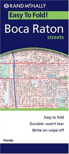 9780528854705: Boca Raton, Florida (Easyfinder Maps)