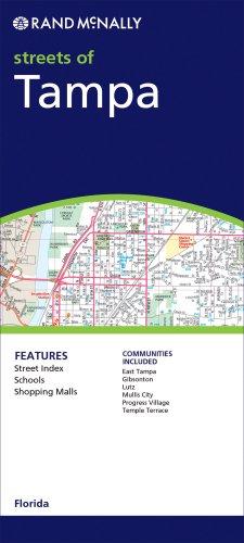 9780528854781: Rand McNally Tampa, Florida (Rand McNally Folded Map: Cities)