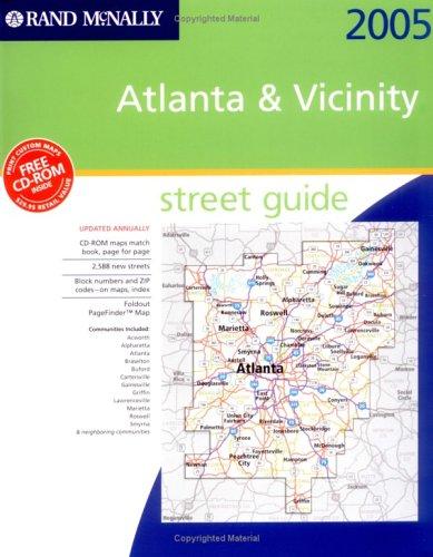 9780528854927: Rand McNally 2005 Atlanta & Vicinity, Georgia: Street Guide (Rand McNally Street Guides)
