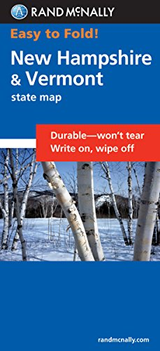 9780528855016: Easy To Fold: New Hampshire, Vermont (Easyfinder S)