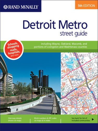 9780528855047: Rand McNally Detroit Metro, Michigan: Street Guide (Rand Mcnally Street Guide)