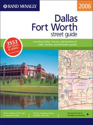 Rand Mcnally 2006 Dallas And Fort Worth,: Rand McNally and