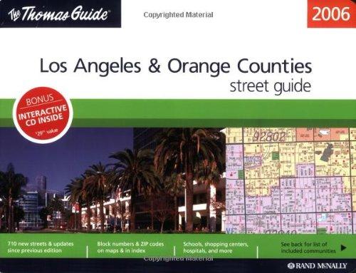 9780528855139: Thomas Guide 2006 Los Angeles & Orange Counties: Street Guide (Los Angeles and Orange Counties Street Guide)