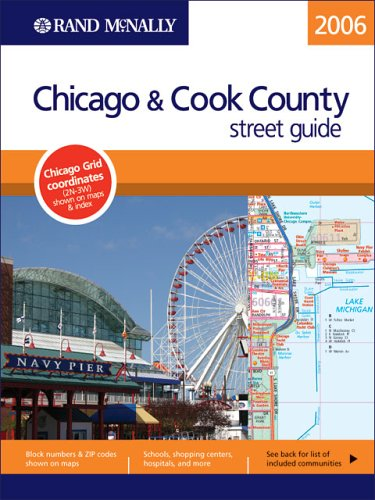 9780528855191: Rand McNally Chicago & Cook County Street Guide