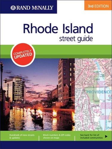 9780528855399: Rand McNally Rhode Island: Street Guide