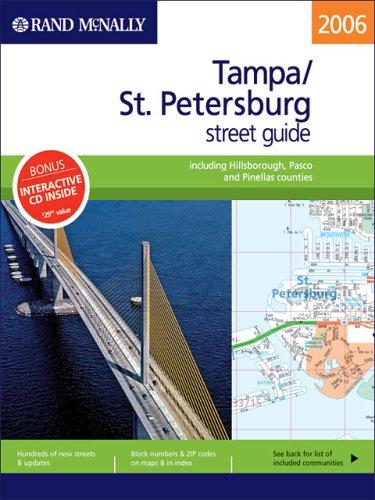 Rand McNally 2006 Pasco County Street Guide: St. Petersburg, Florida