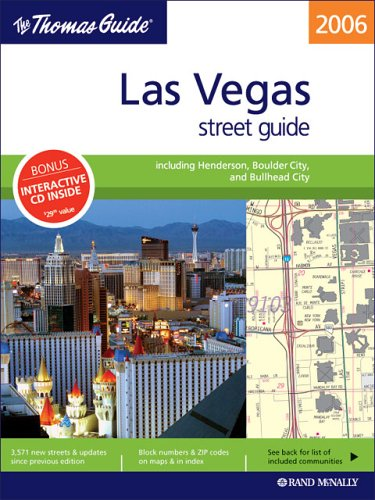 Las Vegas Street Guide (Thomas Guide Las Vegas Street Guide)