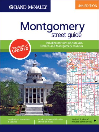 9780528855689: Rand Mcnally Montgomery & Vicinity, Alabama (Rand McNally Montgomery Street Guide: Including Portions of Autauag)