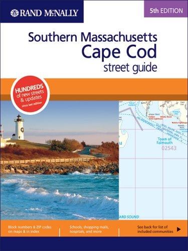 9780528855740: Rand McNally Southern Massachusetts/Cape Cod Street Guide