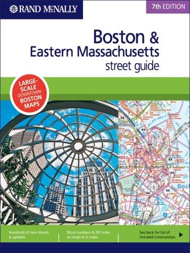 9780528855801: Rand McNally 7th Edition Boston & Eastern Massachusetts street guide