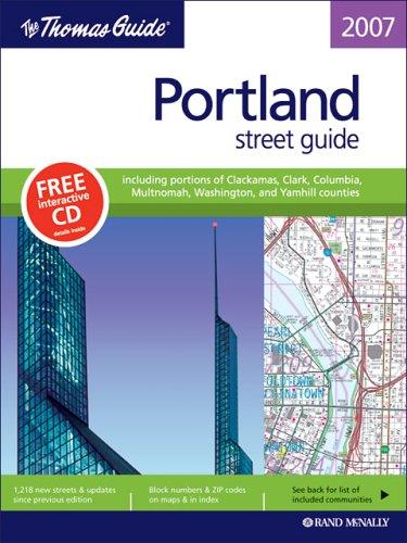 The Thomas Guide Portland, Oregon: Oregon: Street Guide (Thomas Guide Portland Oregon (Bk & CD)...