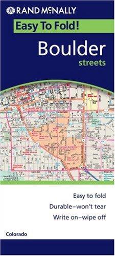 Rand McNally Boulder Easyfinder: Local: Colorado (Rand McNally Easyfinder)