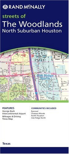 9780528856594: Rand Mcnally North Suburban Houston And the Woodlands, Texas: Local Street Detail