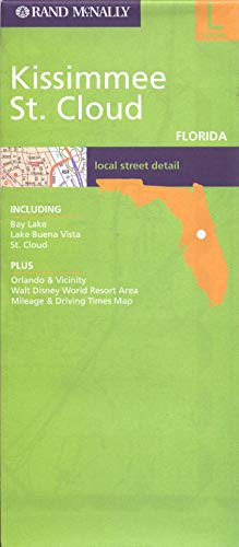 9780528856716: Kissimmee & St Cloud (Fl) (Rand McNally Folded Map: Cities)