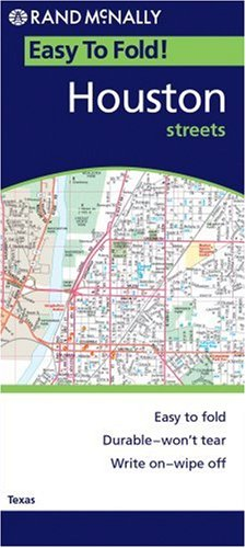 9780528856792: Rand Mcnally Easyfinder Houston, Texas: Local Street Detail