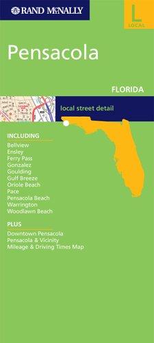 9780528856860: Rand McNally Pensacola, Florida: City Map (Rand McNally Folded Map: Cities)