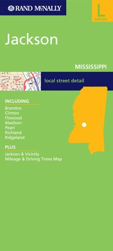9780528856969: Rand McNally Jackson, Mississippi: City Map (Rand McNally Folded Map: Cities)