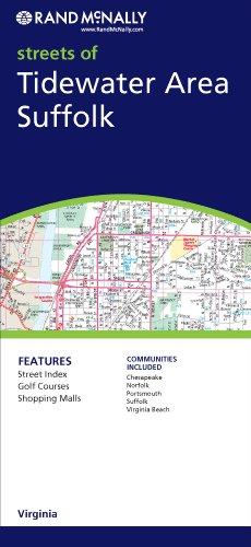 9780528857522: Rand McNally Tidewater Area, Virginia City Map