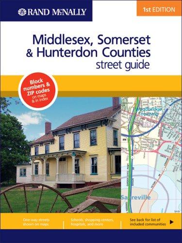9780528858239: Rand Mcnally Hunterdon/somerset/middlesex Co, New York (Rand McNally Greater Hartford Streetguide)