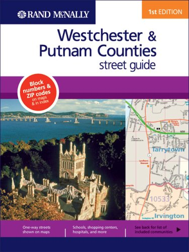 9780528858253: Westchester & Putnam Counties Street Guide