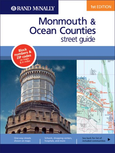 Rand Mcnally Monmouth/ocean County, New Jersey (Rand McNally Monmouth/Ocean Counties (New...