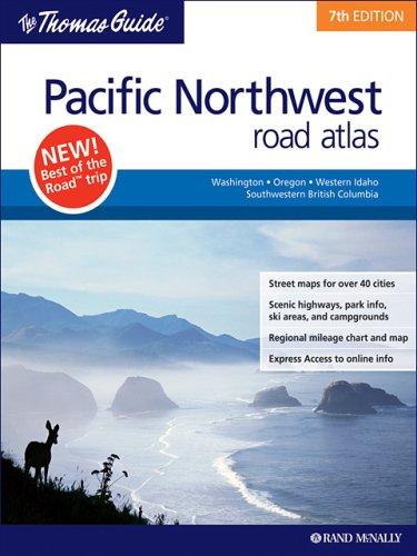 9780528858697 Pacific Northwest Road Atlas Thomas Guide Pacific Northwest Road Atlas