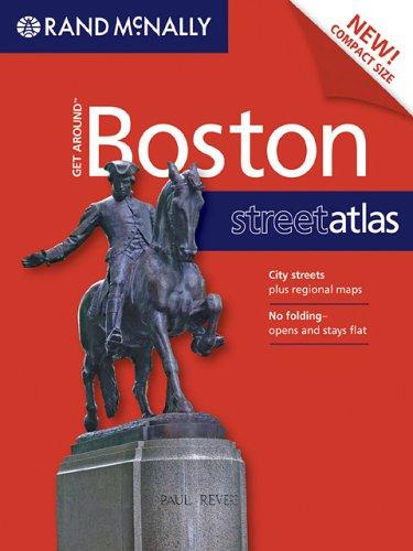 9780528859250: Rand McNally Get Around Boston Street Atlas (Get Around (Rand McNally))