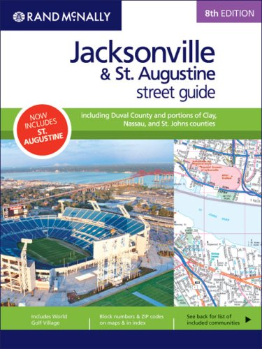9780528859519: Rand McNally Jacksonville & St. Augustine, Florida: Street Guide (Rand McNally Jacksonville & St. Augustine Street Guide: Including)