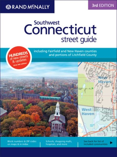 9780528859878: Rand McNally 3rd Edition Southwest Connecticut street guide