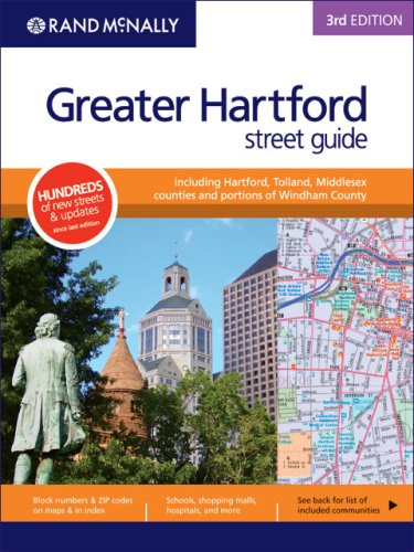 9780528859892: Rand McNally Greater Hartford Street Guide: Including Hartford, Tolland, Middlesex Counties and POrtions of Windham County, 3rd Edition
