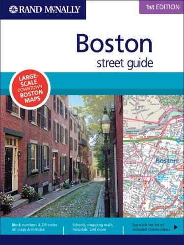 9780528859922: Rand Mcnally Boston Street Guide