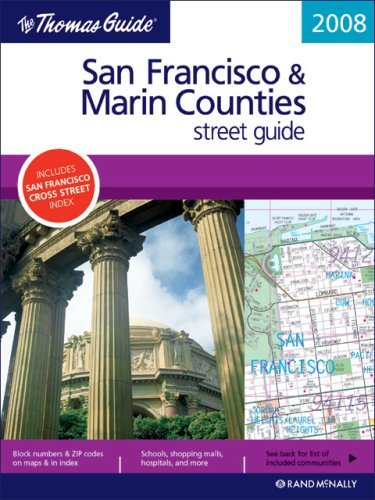 9780528860669: The Thomas Guide San Francisco & Marin Counties Street Guide