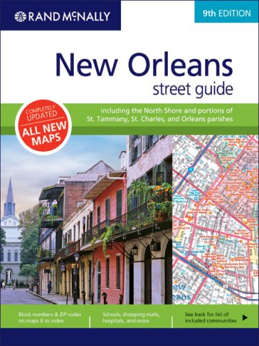 9780528860690: Rand McNally New Orleans Street Guide
