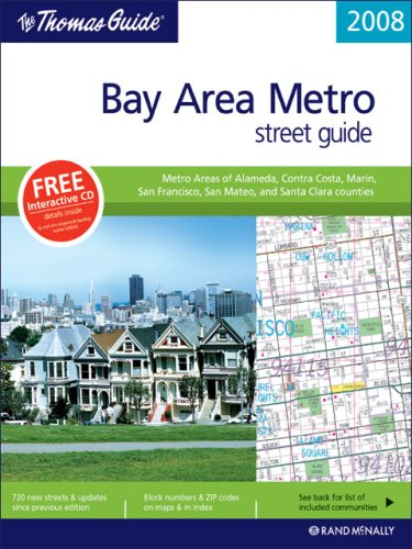 The Thomas Guide Bay Area Metro Street Guide (Rand McNally Bay Area Metro Streetguide): Rand ...