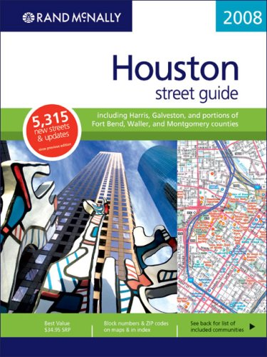 9780528860737: Rand McNally 2008 Houston, Texas: Street Guide (Rand McNally Street Guide)