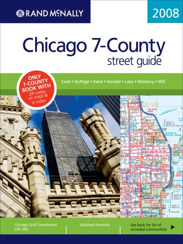 Rand McNally Chicago 7-County Street Guide: Cook, DuPage, Kane, Kendall, Lake, McHenry, Will (Rand ...