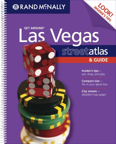 9780528860935: The Thomas Guide Get Around Las Vegas, Nevada Street Atlas & Guide (Get Around (Rand McNally))