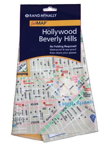 9780528862328: Rand McNally fabMap Hollywood Beverly Hills (Rand McNally fabMAP Hollywood and Beverly Hills)