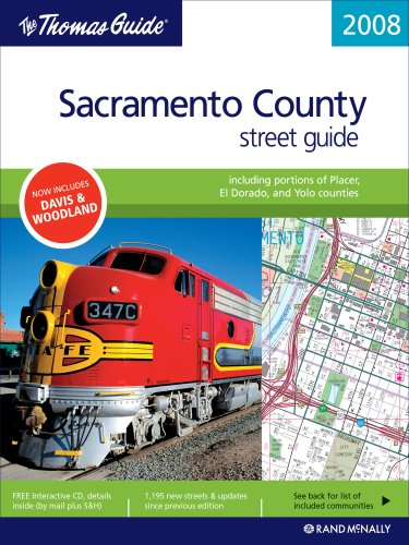 9780528866463: The Thomas Guide 2008 Sacramento County, California Street Guide (Sacramento County, Including Portions of Placer and El Dorado Counties Street Guide and Directory)