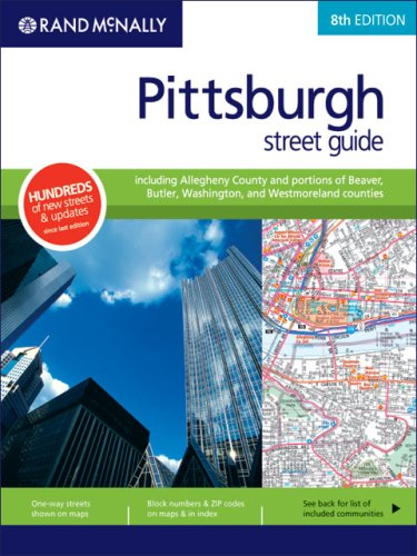 Rand Mcnally Pittsburgh/Allegheny County, Pennsylvania (Rand McNally Pittsburgh Street Guide: ...
