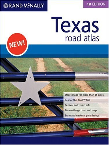 9780528866593: Rand McNally 1st  Edition Texas road atlas