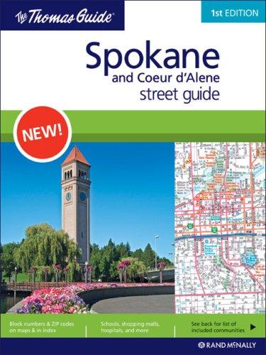9780528866630: The Thomas Guide Spokane and Coeur D'Alene Street Guide (Thomas Guide Spokane & Coeur D'Alene Street Guide) [Idioma Inglés]