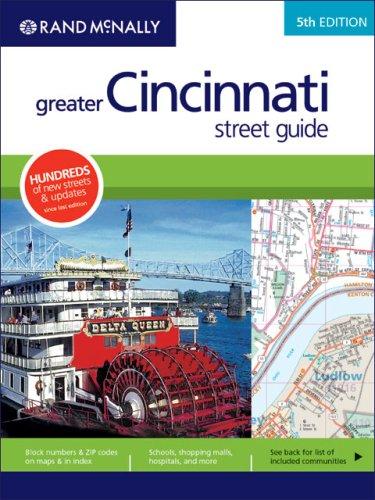 9780528866852: Rand McNally 5th Edition Greater Cincinnati street guide