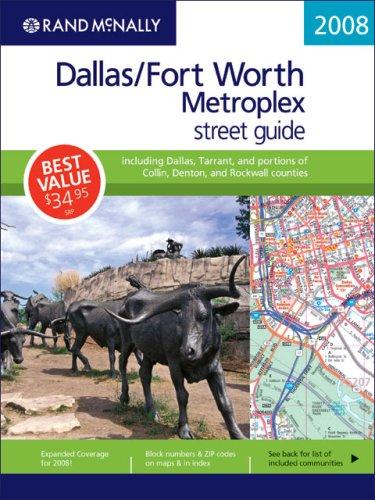 9780528866890: Rand Mcnally 2008 Dallas/Fort Worth Metroplex (Rand McNally Dallas/Fort Worth Metroplex Street Guide)