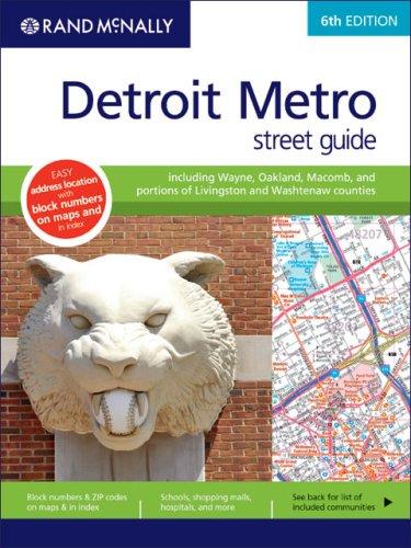 9780528867033: Rand McNally Detroit Metro Street Guide (Rand McNally Detroit Metro Street Guide: Inlcudes Wayne, Oakland,)