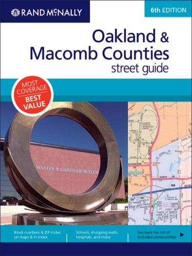 9780528867064: Rand McNally Oakland & Macomb Counties, Michigan Street Guide (Rand McNally Oakland & Macomb Counties Street Guides)
